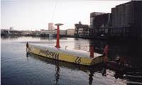 Рис.10 - Яхта класса Open 60 проходит тест на опрокидывание