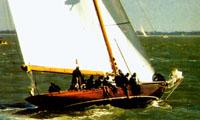 Рис.4 – Остойчивость узких яхт классического типа